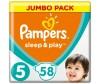 Pampers Подгузники Sleep & Play Jumbo Ромашка р.5 (11-18 кг) 58 шт.