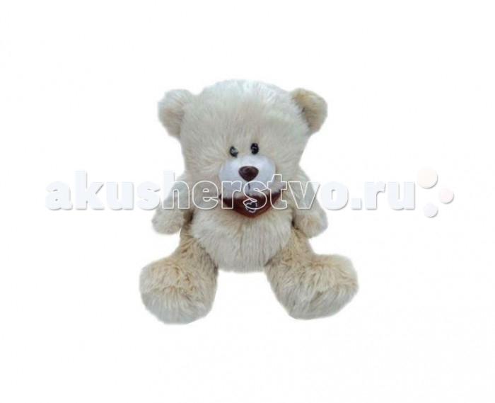 Мягкая игрушка Plush Apple Медведь с платком 31 см  - купить со скидкой