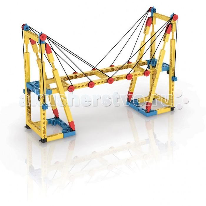 Конструктор Engino Mechanical Science Мосты и сооруженияMechanical Science Мосты и сооруженияEngino Mechanical Science Мосты и сооружения.  Узнай всё о больших сооружениях и о том, как они поддерживают нас в жизни! Открой для себя разные виды мостов и сил и собери 7 рабочих моделей, таких как дом, подвесной мост, вантовый мост, арочный мост и 2 типа мостов со сквозными фермами.   В набор входит рабочая тетрадь на английском языке с описаниями новейших экспериментов и подробными объяснениями различных принципов механики, которые в них применяются. К тетради также прилагается брошюра с подробными инструкциями по сборке моделей.<br>