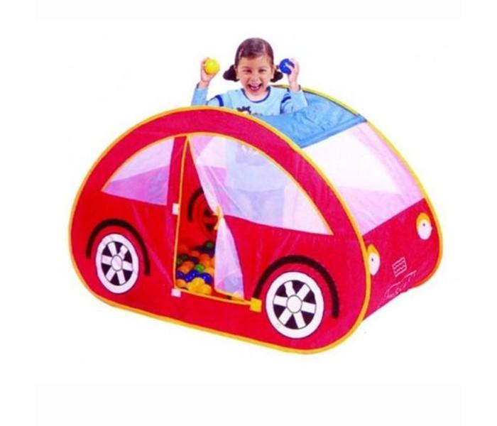 Палатки-домики Calida Домик-палатка Автомобиль + 100 шаров 653 палатки тентовые пивные цена в украине