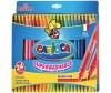 Фломастеры Carioca Berillo двухсторонние 24 цвета