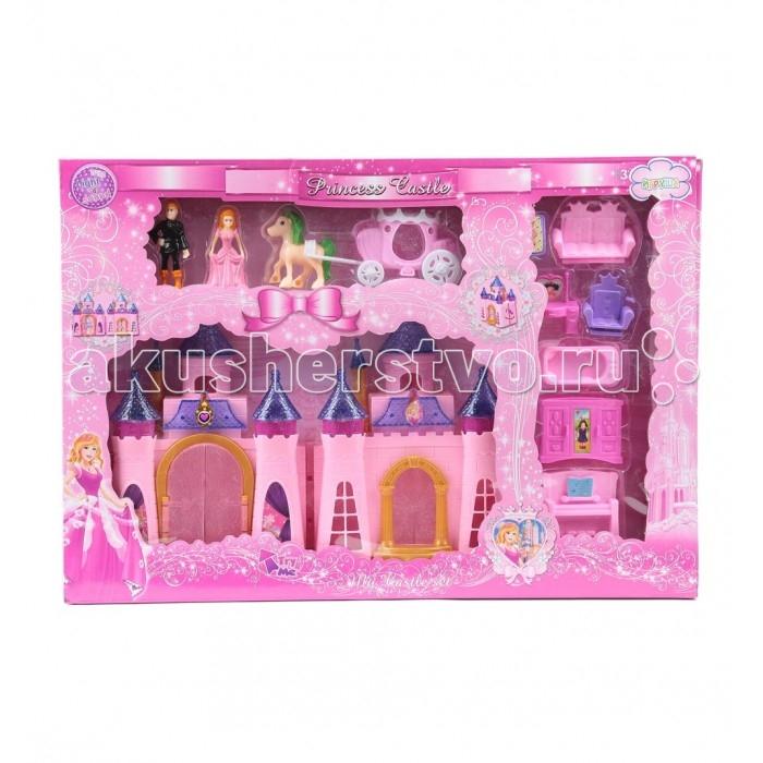 Кукольные домики и мебель Игруша Замок с аксессуарами i-CB688-6 кукольные домики из коробок