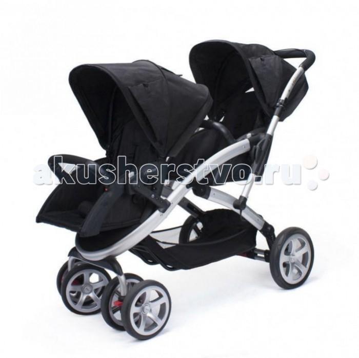 Casualplay Коляска STWINNER для двойни без матрасиковКоляска STWINNER для двойни без матрасиковCasualplay Коляска STWINNER для двойни без матрасиков - это идеальный вариант для двух малышей. Современный дизайн и простота в использовании делают эту модель удобной как для малышей, так и для их родителей. Имеется возможность установить на раму коляски детские автолюльки CasualPlay.  Прогулочный блок: спинка сделана из специального дышащего материала Airgo наклон спинки плавно регулируется регулируемые пятиточечные ремни безопасности с мягкими плечевыми накладками съемный капюшон со встроенным окошком для наблюдения за ребенком водонепроницаемое тканевое покрытие все материалы, используемые в колясках Casualplay являются экологически чистыми и безвредными для кожи малыша и соответствуют международным требованиям безопасности съемные тканевые чехлы можно стирать при температуре 30°. Шасси: Телескопическая ручка, регулируется по высоте под рост родителей Есть ручной тормоз Все колеса съемные - для удобной транспортировки коляски Надувные задние колеса обеспечивают плавный ход по неровным поверхностям Передние спаренные колеса вращаются на 360°, придавая коляске отличную маневренность, при необходимости их можно зафиксировать в положении только прямо Прочная алюминиевая рама Стояночный тормоз на задних колесах Независимая подвеска колес Механизм складывания ножничного типа с предохранительной блокировкой; Вместительная сетчатая корзина для вещей (до 5 кг) На шасси коляски CasualPlay Stwinner можно устанавливать люльки-переноски Sono или Baby 0+. Переноски в комплект НЕ входят, при необходимости они приобретаются дополнительно. В комплекте: Шасси Два поворотных прогулочных блока Два бампера Влагонепроницаемые капюшоны Два дождевика Насос. В комплекте: Размер в разложенном виде: 106 х 63 х 120 см. Размер в сложенном виде: 95 х 40 см. Размеры сиденья: 25 х 31 х 46 см. Вес коляски: 13 кг.<br>