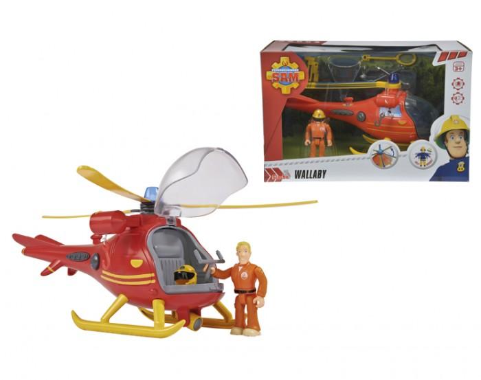 Dickie Пожарный Сэм Вертолет с фигуркой