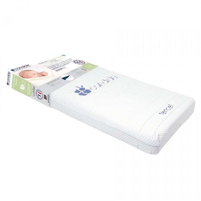 Матрас Candide для кровати со съемным чехлом Adjustable mattress 60х120x12 смдля кровати со съемным чехлом Adjustable mattress 60х120x12 смCandide Матрас для кровати со съемным чехлом Adjustable mattress 60х120 см (толщина 12 см) 584086  Здоровый сон. Матрас двухсторонний. С одной стороны используется для новорожденных детей до 10кг (плотность 16 кг/м3), а с другой стороны для детей с массой тела более 10 кг. Съемный чехол.  Дышащая ткань, которая охлаждает летом и согревает зимой.  Состав: микроперфорированная латексная основа, полиуретан.<br>