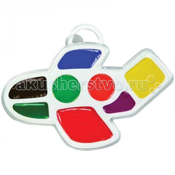 Краски Луч Акварель Самолетик 8 цветов без кисти фигурная акварель медовые чудо краски 10цв без кисти