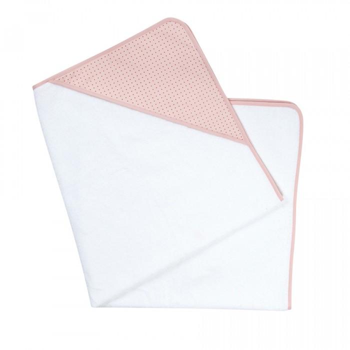 Candide Полотенце Ma Jolie Fleur Белый с розовым капюшоном 100х100 см