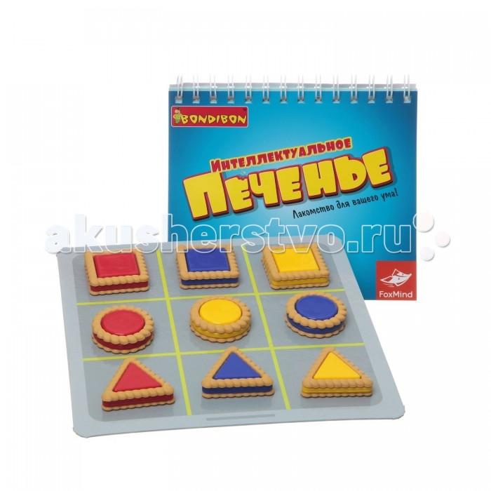 Настольные игры Bondibon Настольная игра Интеллектуальное печенье bondibon логические игры bondibon следопыт колобок