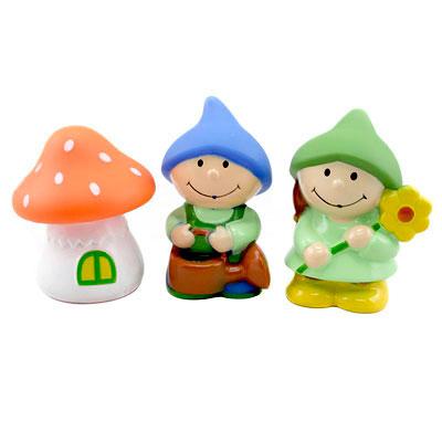 Игрушки для ванны Курносики Набор игрушек-брызгалок для ванны Гномики набор игрушек брызгалок для ванны собачки курносики