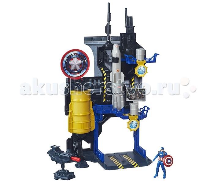 Игровые наборы Avengers Игровая башня Мстителей avengers машина на радиоуправлении капитан америка
