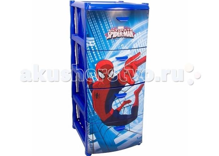 Idea (М-Пластика) Комод Человек паук 4-х секционный