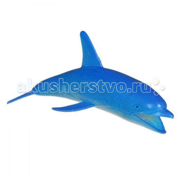 Игровые фигурки Bondibon Набор животных Ребятам о Зверятах Дельфины 5 дюймов bondibon набор животных ребятам о зверятах дикие животные 5 дюймов 6 шт