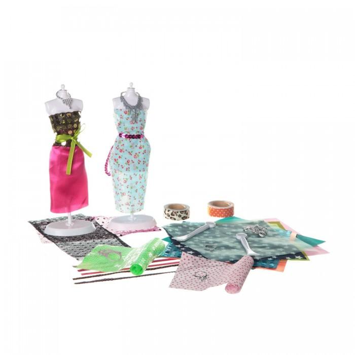 Наборы для творчества Bondibon Набор для творчества Студия дизайна Диско студия дизайна бальные платья