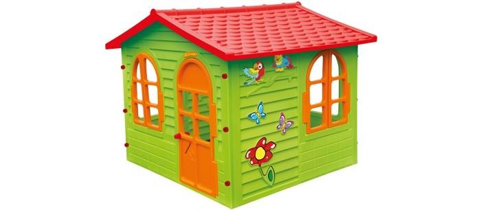 Mochtoys Игровой домик 10425Игровой домик 10425Mochtoys Домик для игр 10425  Игровой домик Mochtoys, сделанный из высококачественная прочного пластика — это прекрасный выбор для любого ребенка.   Пластиковый домик имеет окна и двери ярких тонов, которые не выцветают. Размеры домика достаточны, чтобы вместить несколько детей одновременно, что обеспечивает невероятные возможности для совместных игр малышей на свежем воздухе.  Кроме того, домик для детей был сконструирована так, чтобы исключить острые края, поэтому он абсолютно безопасен для наших детей  Быстро и легко собирается, не больше 10 минут. Рекомендуемый возраст детей: от 2-х лет. Размеры (ДхШхВ): 1,27х1,5х1,18 м.<br>