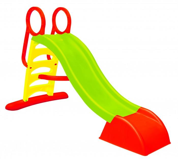 Горка Mochtoys Детская большая 10832Детская большая 10832Mochtoys Детская большая 10832  Предназначена для игры на свежем воздухе. Есть возможность подключить воду  Конструкция Лестницы сделаны из безопасного для детей пластиката Лестницы покрыты противоскользящим покрытием Размеры В построенным виде 180x64x110 см Размер упаковки 46x31x146 см Длина скользящей поверхности: 110 см Вес Брутто 7.8 kg Возраст от 3 лет<br>