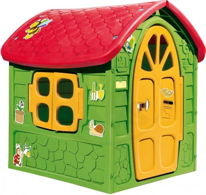 Macyszynt toys Игровой домик 1463Игровой домик 1463Игровой домик Macyszynt toys 1463  Замечательная возможность подарить малышу кусочек собственного пространства для проявления его фантазии! Небольшой и очень уютный домик создаст для ребенка собственный мир, оборудованный по детским законам и только лично самим ребенком. Необычный уютный игровой домик идеально подойдет для игры детей на открытом воздухе и в помещении. Ребенку понравится его яркое оформление и он с радостью пригласит в свой домик друзей. Яркий уютный игровой домик станет любимым местом игры ребятишек на открытом воздухе. Дверцы открываются. Благодаря окошкам, в домике будет много света. Домик идет без аксессуаров. Устойчивая и надежная конструкция. Домик изготовлен из высококачественного упрочненного пластика. Материал не выгорает на солнце и морозоустойчив.   Размер: 113 х 111 х 120 см  Вес: 12,5 кг<br>