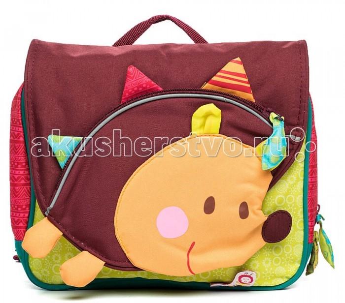 Школьные рюкзаки Lilliputiens Дошкольный рюкзак Ежик Симон А5 чиковани с симон чиковани стихотворения