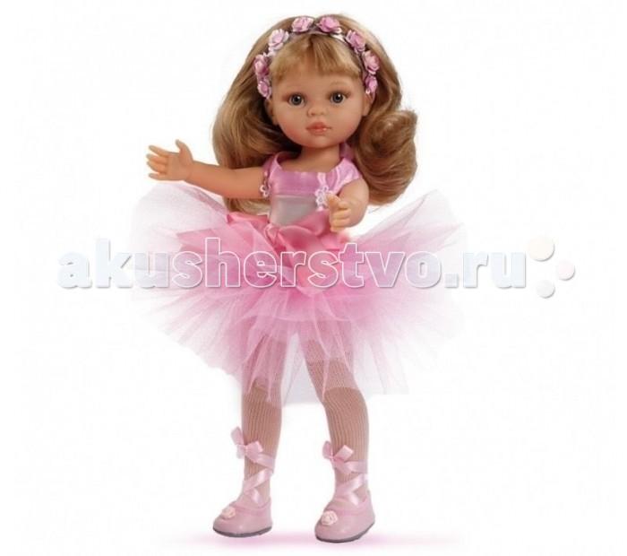 Paola Reina Кукла Карла балерина 32 смКукла Карла балерина 32 смPaola Reina Кукла Карла балерина 32 см   Миловидное личико, шелковистые волосы и яркий наряд – вот то, что ценится в любой кукле. Карла наделена всеми этими качествами!   Особенности: У куклы Paola Reina нежный ванильный аромат.  Уникальный и неповторимый дизайн лица и тела. Ручная работа (ресницы, веснушки, щечки, губы, прическа). Волосы легко расчесываются и блестят. Глазки не закрываются. Ручки, ножки и голова поворачиваются.  Качество подтверждено нормами безопасности EN71 ЕЭС.   Материалы: кукла изготовлена из винила глаза выполнены в виде кристалла из прозрачного твердого пластика волосы сделаны из высококачественного нейлона.<br>
