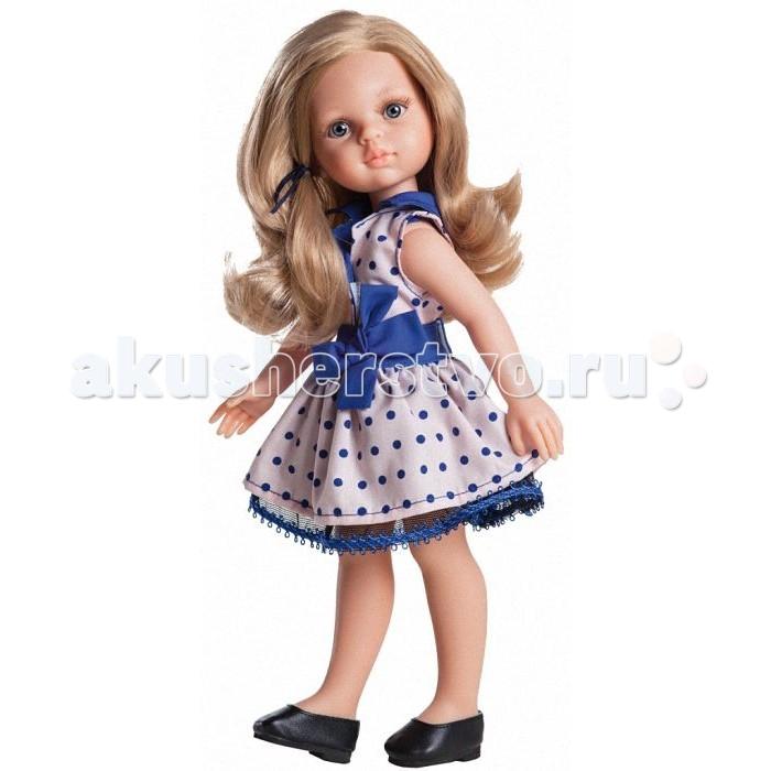 Paola Reina Кукла Карла 04506 32 смКукла Карла 04506 32 смPaola Reina Кукла Карла 32 см - яркая стильная игрушка, которая обязательно понравится каждой девочке и станет ее лучшей подружкой.   Миловидное личико, шелковистые волосы и яркий наряд – вот то, что ценится в любой кукле. Карла наделена всеми этими качествами!   Особенности: У куклы Paola Reina нежный ванильный аромат.  Уникальный и неповторимый дизайн лица и тела. Ручная работа (ресницы, веснушки, щечки, губы, прическа). Волосы легко расчесываются и блестят. Глазки не закрываются. Ручки, ножки и голова поворачиваются.  Качество подтверждено нормами безопасности EN71 ЕЭС.   Материалы: кукла изготовлена из винила глаза выполнены в виде кристалла из прозрачного твердого пластика волосы сделаны из высококачественного нейлона.<br>