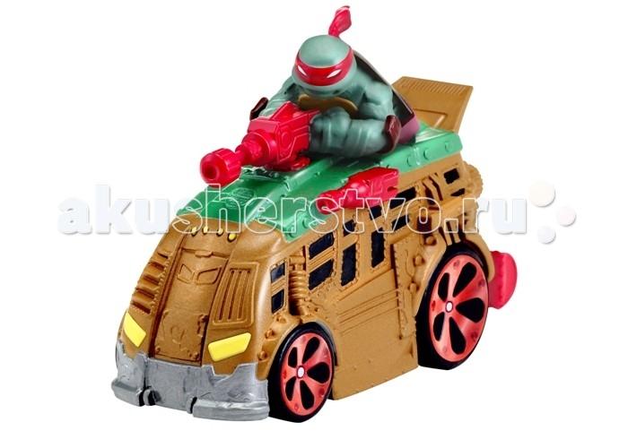 Машины Playmates TMNT Машинка Черепашки-ниндзя 7 см Рафаэль игровой набор tmnt черепашки ниндзя микиланджело от 4 лет 3 предмета 90835