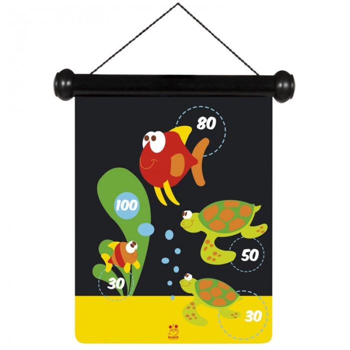 Спортивный инвентарь Scratch Дартс Морская жизнь