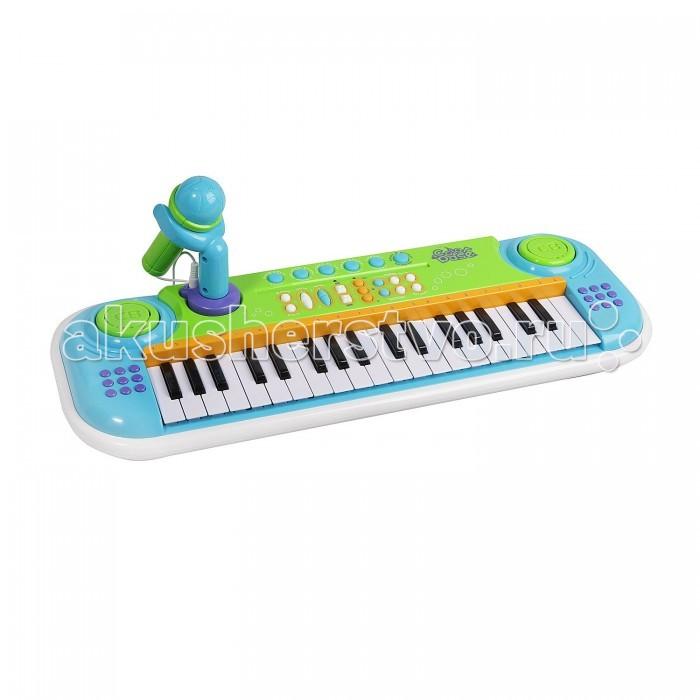 Музыкальная игрушка Potex Синтезатор с микрофоном Color Base 37 клавиш 657BСинтезатор с микрофоном Color Base 37 клавиш 657BМузыкальная игрушка Potex Синтезатор с микрофоном Color Base 37 клавиш Potex 657B. Для развития музыкального таланта и проявления творческих способностей, предлагаем вашему вниманию детский синтезатор с микрофоном, который имеет дополнительные мелодии и инструментальные звуки.   Компактный синтезатор не займет дома много места, поэтому его очень удобно использовать в качестве домашнего музыкального инструмента. Яркий синтезатор оснащен функцией записи и воспроизведения , а так же микрофоном, держателем для него и кнопками регулирования громкости. Ну все теперь смело можно звать друзей гости и развеселить веселым концертом.<br>