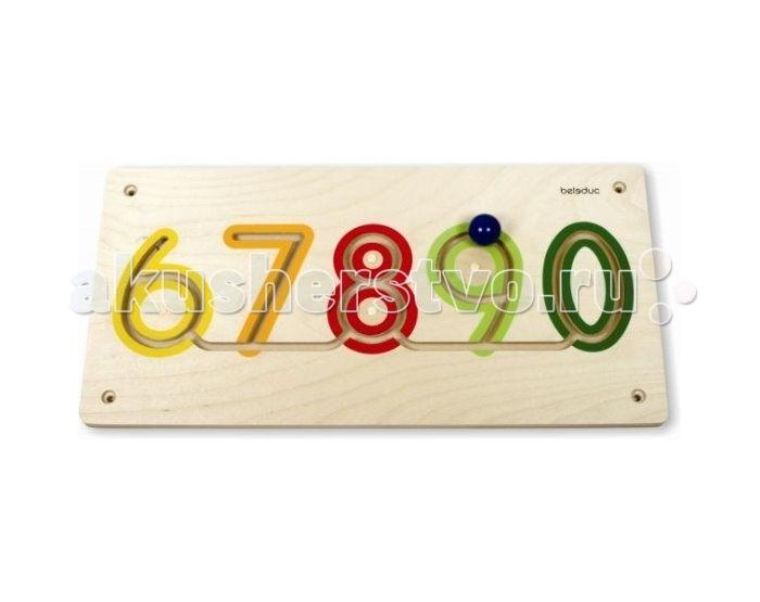 Деревянная игрушка Beleduc Настенный игровой элемент Цифры от 6 до 0Настенный игровой элемент Цифры от 6 до 0Beleduc Настенный игровой элемент Цифры от 6 до 0  Настенный игровой элемент развивает детскую моторику, математические навыки и совершенствуют координацию движений ребенка.   Ребенок учит цифры от 6 до 0.<br>