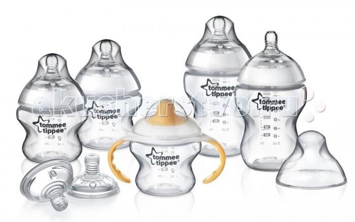 Tommee Tippee набор для новорожденного 42355171набор для новорожденного 42355171Набор бутылочек для новорожденного Tommee Tippee  В комплекте: бутылочки 150 мл - 2 шт бутылочки 260 мл - 2 шт тренировочная бутылочка-поильник с мягким носиком 160 мл - 1 шт<br>