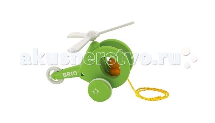 Каталка-игрушка Brio ВертолетВертолетКаталку в виде вертолета очень понравиться возить за собой малышам, которые уже научились уверенно ходить без посторонней помощи. Во время движения у вертолета крутится пропеллер – ребенка заинтересует связь между движением игрушки и вращением винта. Изготовленная из натурального дерева, игрушка оптимально подходит для малышей, ведь она не содержит в себе аллергенов.  Деревянные игрушки Brio уникальны в своем роде. Очень милый, по-настоящему детский дизайн и высокий уровень качества исполнения деталей, а так же использование в качестве основного материала массив дерева – выгодно выделяет развивающие игрушки этой компании среди конкурентов.   Размеры. 17х15х13см<br>
