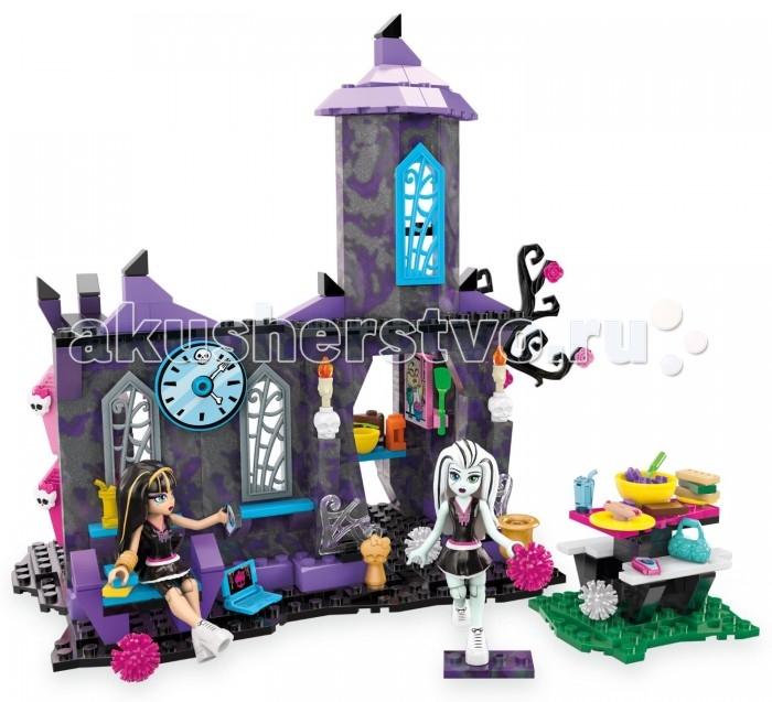 Конструктор Mega Bloks Mattel Monster High: Столовая монстров (280 деталей)