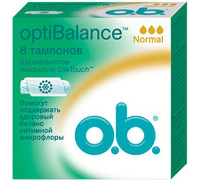 Гигиена для мамы o.b. Тампоны optiBalance Нормал 8 шт.
