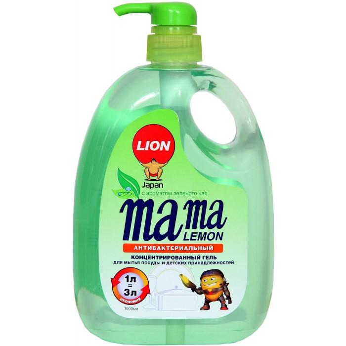 Бытовая химия Mama Lemon Концентрированное средство для мытья посуды Зеленый чай 1 л бытовая химия aos средство для мытья посуды 2 в 1 глицерин 1 л