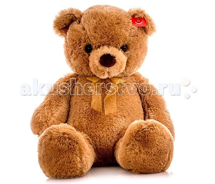 Мягкая игрушка Aurora Медведь 80 смМедведь 80 смМягкая игрушка Aurora Медведь 80 см от которой ваш ребенок придет в восторг. Она изготовлена из безопасных высококачественных синтетических материалов, которые абсолютно безвредны для ребенка.   Особенности: Он выполнен из высококачественных экологически чистых материалов и выглядит просто очаровательно.  Медвежонок Aurora сможет стать для ребенка настоящим верным другом!  Его можно стирать как вручную, так и в машинке, он не теряет цвета и не деформируется со временем. Модель способствует развитию у детей воображения, усидчивости, тактильной  Крепкие швы надежно удерживают набивку игрушки внутри.<br>