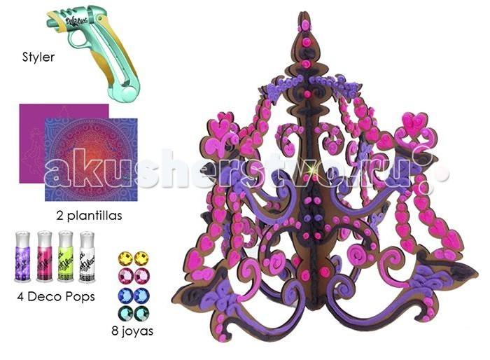 Наборы для творчества DohVinci Набор для творчества Люстра Да Винчи наборы для лепки sentosphere набор для творчества текстурный пластилин серия патабул
