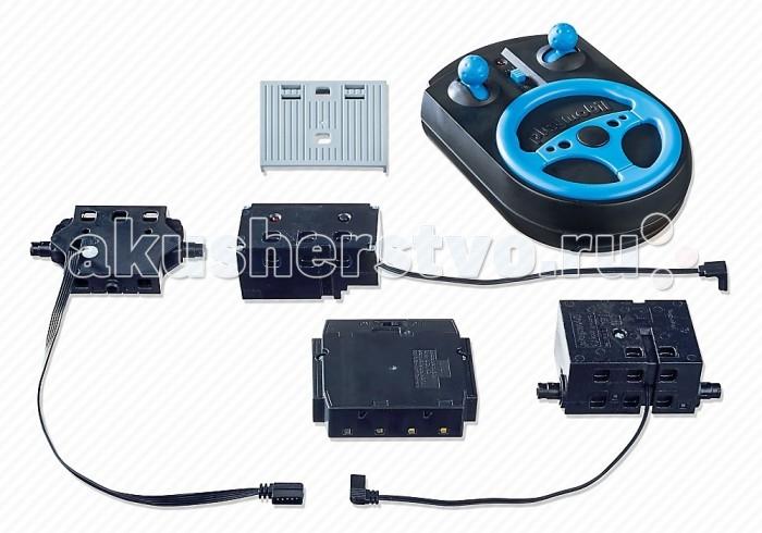 Конструктор Playmobil Набор для радиоуправленияНабор для радиоуправленияPlaymobil Набор для радиоуправления  Набор для радиоуправления подходит для автомобилей Playmobil, которые могут быть оснащены пультом управления.  Пульт работает на частоте 2,4 Герц. Для работы требуется 4 батарейки 1,5 В АА и 1 батарейка 9В, нет в комплекте.<br>