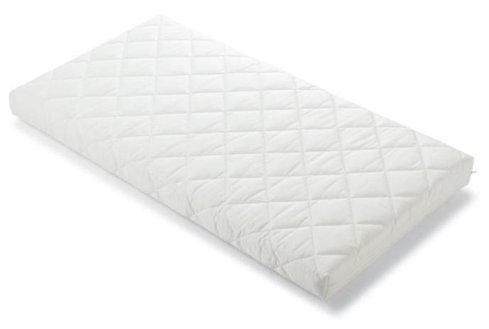 Матрас Pali Evolution 124х64Evolution 124х64Чудесный матрас Pali Evolution в детскую кроватку подарит Вашему малышу крепкий сон в комфортных условия.  Дышащий матрас предполагает правильный уровень жесткости. Матрас покрыт мягким стеганым чехлом, полностью съемным, стирка возможна вручную или машинкой при 30 ° C. Матрас наполнен полиуретановой пеной с открытыми порами, что обеспечивает эластичность и воздухопроницаемость. В то же время, его плотность обеспечивает сбалансированную поддержку вашего ребенка путем равномерного распределения давления.  Размер: 124х64х8 см Наполнение матраса: пенополиуретан. Внешняя обивка: хлопковый жаккард.<br>