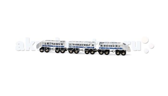Железные дороги Brio Пассажирский поезд экспресс 3 элемента колонка jbl on stage micro iii black