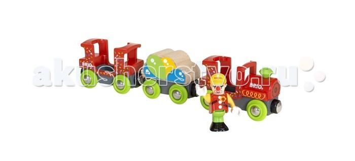Железные дороги Brio Цирковой поезд 33756 toys lab конструктор цирковой поезд