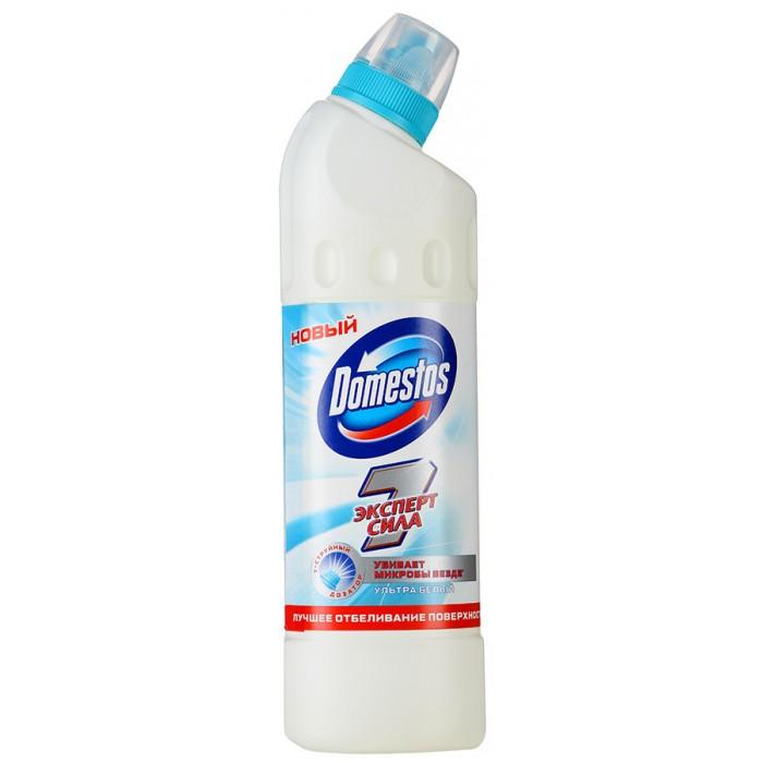 Бытовая химия Domestos Чистящее средство для унитаза Эксперт Сила 7 Ультра белый 500 мл бытовая химия domestos чистящее средство свежесть атлантики 500 мл