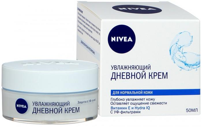 Косметика для мамы Nivea Увлажняющий дневной крем Aqua Effect для нормальной кожи 50 мл кремы nivea увлажняющий дневной крем aqua effect 50мл