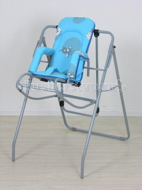 Качели Фея Чарли 3 в 1Чарли 3 в 1Качели Фея Чарли 3 в 1 предназначены для детей до 3 лет. Качели имеют раскладную конструкцию, легко устанавливаются и убираются. Высокий стул соразмерный стандартному обеденному столу, получается при фиксации кресла на раме качелей. Это очень удобно для кормления ребенка за столом. Шезлонг позволяет ребенку самостоятельно заниматься, играть, принимать пищу и отдыхать. Кресло-качалка обеспечивают безопасность и самостоятельность ребенка во время активного отдыха.  Кресло имеет удобные мягкие подлокотники, его можно регулировать по высоте в зависимости от роста ребенка. Также кресло имеет регулировку угла наклона спинки. Матерчатый мягкий чехол кресла – съемный, на липучках. Регулируемый ремень безопасности надежно удерживает ребенка.  Характеристика:  мягкое сидение регулировка угла наклона спинки съемный чехол ремень безопасности надежный механизм фиксации нескользящие опоры подножка мягкие подлокотники еханизм складывания «книжка» размер: 60х76,5х93,5 см вес: 9,5 кг  Цвет может отличаться от представленного на фото.<br>
