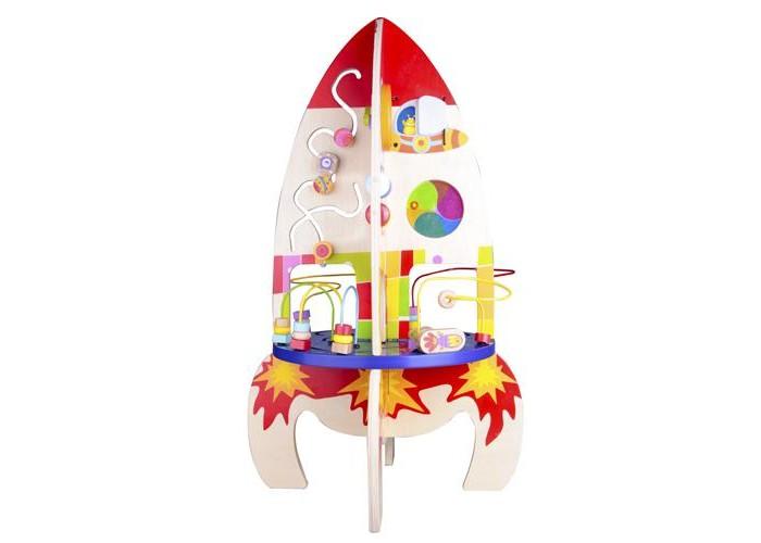 Игровой центр Classic World Развивающий центр РакетаРазвивающий центр РакетаРазвивающий центр Ракета   Большая космическая ракета приведет в восторг любого малыша! Ракета представляет собой многофункциональный развивающий центр, который включает в себя: увлекательный лабиринт, счеты, зеркальце, визуальные шестеренки, колокольчик.  1. Большая космическая ракета способна привести в восторг любого малыша!   2. Ракета представляет собой многофункциональный развивающий центр, который включает в себя: увлекательный лабиринт, счеты, зеркальце, визуальные шестеренки, колокольчик.   3. Игра с лабиринтом, счетами и визуальными шестеренками направлена на развитие мелкой моторики.   4. Играя циферблатом, ваш ребенок откроет для себя понятие «время».   5. Зеркальце не даст заскучать маленькому исследователю, а это значит, что ребенок будет еще с большим энтузиазмом исследовать окружающий его мир и быстрее научится разговаривать.   6. А разнотекстурные элементы игрушки - средство формирования тактильного восприятия.<br>