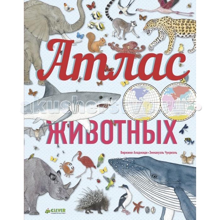 Энциклопедии Clever Энциклопедия Атлас животных атлас приключений clever