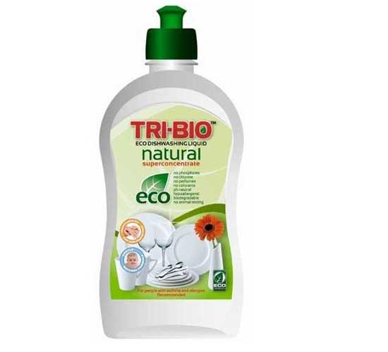 Бытовая химия Tri-Bio Натуральная Эко-жидкость для мытья посуды 420 мл жидкость для мытья посуды aos лимон 1 л
