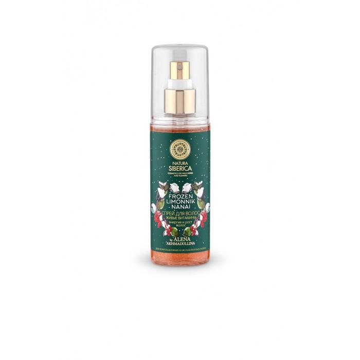 Косметика для мамы Natura Siberica Спрей для волос Живые витамины энергия и рост волос 125 мл 50g rhodiola extract rhodiola rosea extract powder