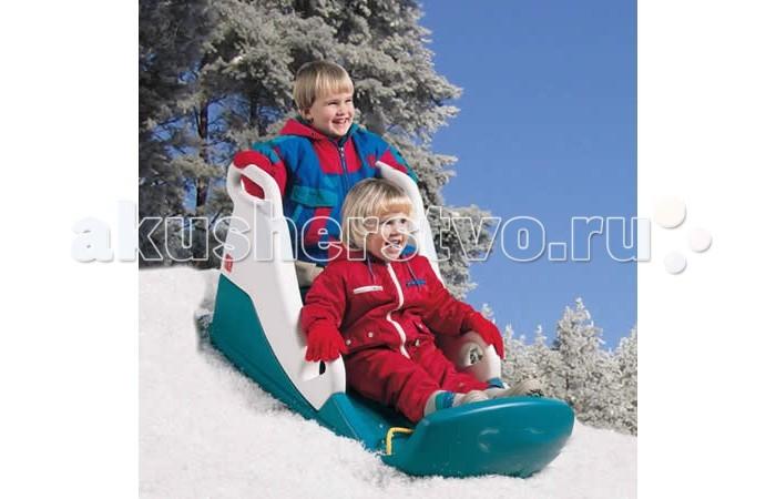 Санки Step 2 Snow RunnerSnow RunnerСанки Snow Runner для детей от 3 лет с уникальным дизайном. Они изготовлены из морозостойкого пластика. Имеют прочные боковые стенки для безопасности.  Размер (В х Д х Ш): 58,42 х 111,76 х 55,88 см<br>