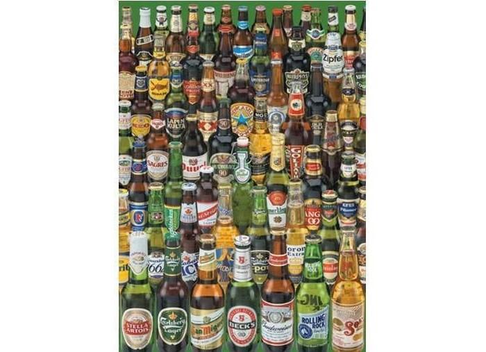 Пазлы Educa Пазл Коллекция бутылок пива 1000 элементов пазлы educa пазл бал феечек 1000 элементов
