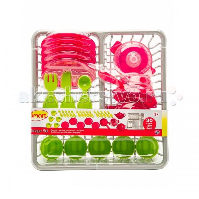 Ролевые игры HTI Набор посуды с сушилкой ролевые игры janod набор посуды пикник