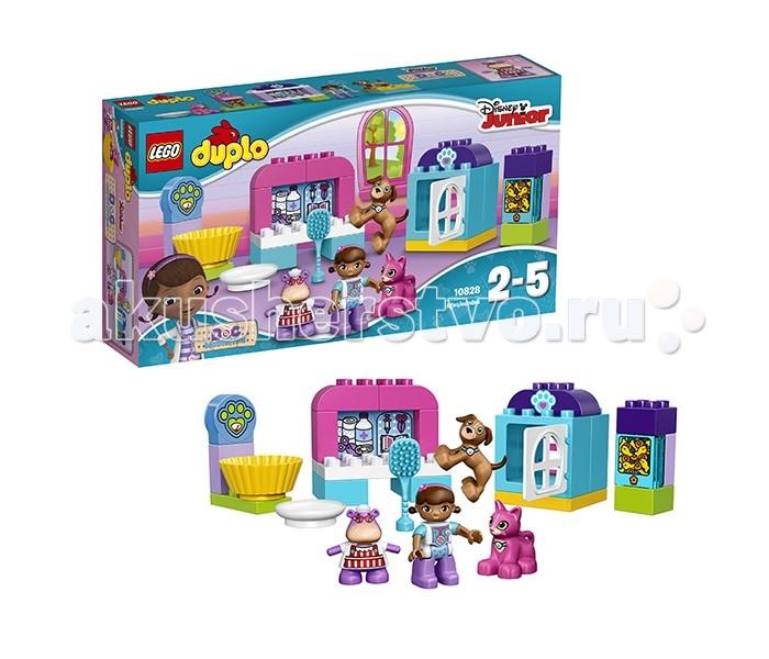 Lego Lego Duplo 10828 Лего Дупло Ветеринарная клиника доктора Плюшевой lego 6 lego duplo 10569 лего дупло охота за сокровищами