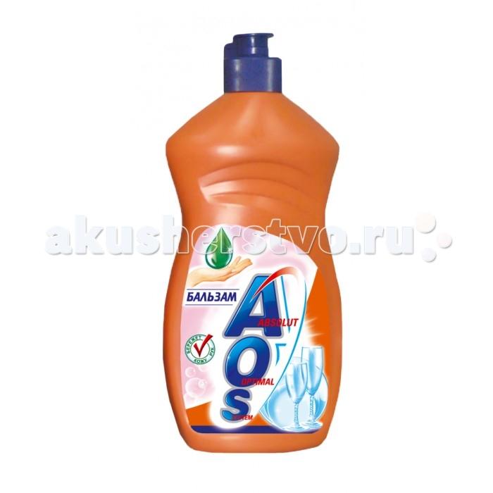 Бытовая химия AOS Средство для мытья посуды Бальзам 500 мл жидкость для мытья посуды aos лимон 500 мл